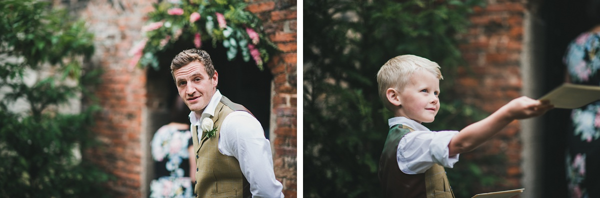 Rosie and Pete's yorkshire wedding photographer
