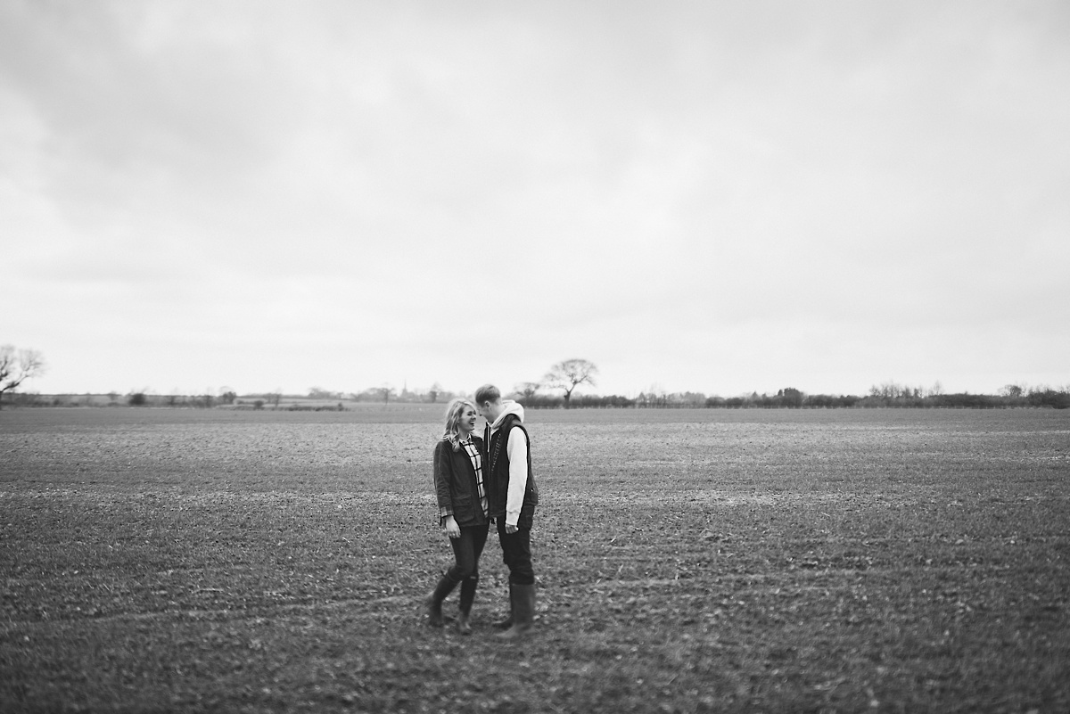 lincolnshire engagement shoot.