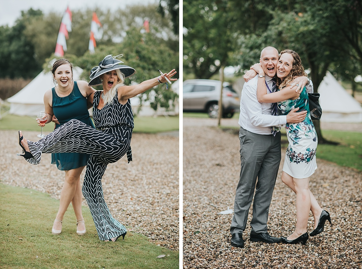 Yorkshire festival wedding